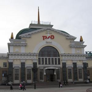 Железнодорожные вокзалы Верхнего Мамона